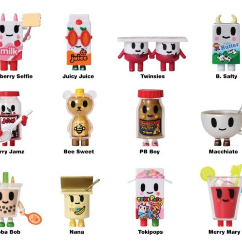 tokidoki - breakfast besties